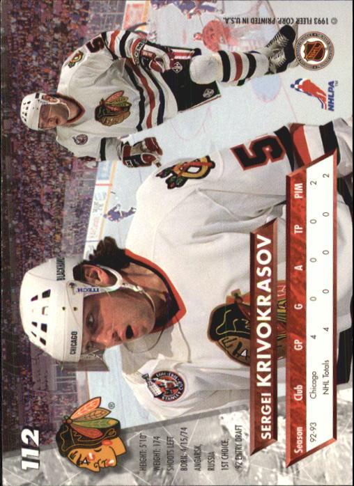 1993-94-Ultra-Hockey-1-250-Your-Choice-GOTBASEBALLCARDS thumbnail 207