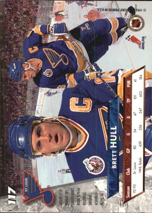 1993-94-Ultra-Hockey-1-250-Your-Choice-GOTBASEBALLCARDS thumbnail 215