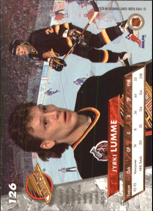 1993-94-Ultra-Hockey-1-250-Your-Choice-GOTBASEBALLCARDS thumbnail 233