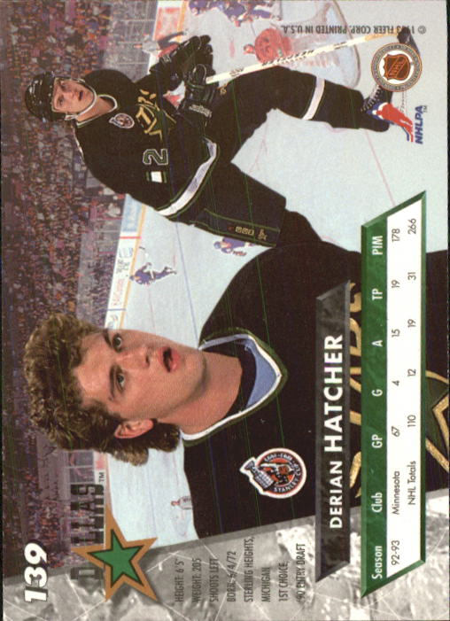 1993-94-Ultra-Hockey-1-250-Your-Choice-GOTBASEBALLCARDS thumbnail 259