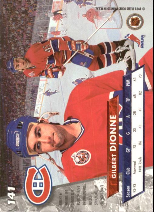 1993-94-Ultra-Hockey-1-250-Your-Choice-GOTBASEBALLCARDS thumbnail 263