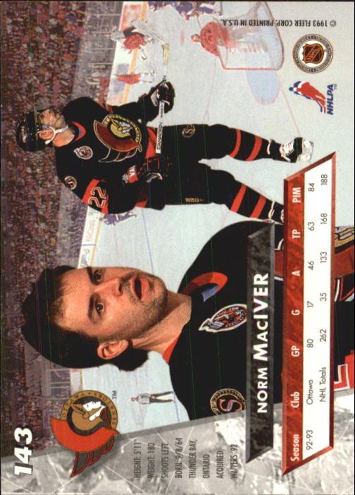 1993-94-Ultra-Hockey-1-250-Your-Choice-GOTBASEBALLCARDS thumbnail 267