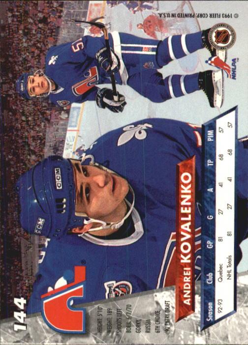 1993-94-Ultra-Hockey-1-250-Your-Choice-GOTBASEBALLCARDS thumbnail 269