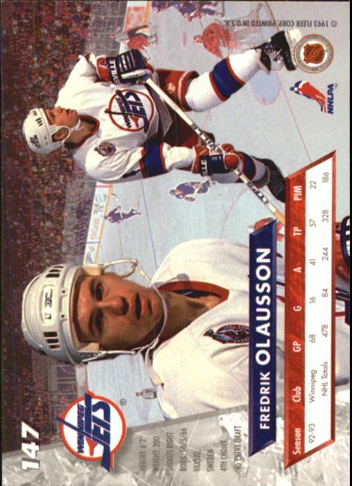 1993-94-Ultra-Hockey-1-250-Your-Choice-GOTBASEBALLCARDS thumbnail 275