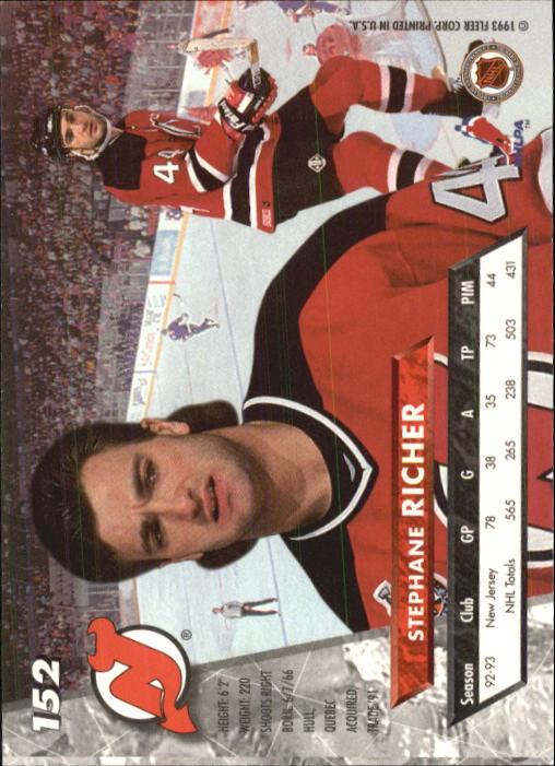 1993-94-Ultra-Hockey-1-250-Your-Choice-GOTBASEBALLCARDS thumbnail 285