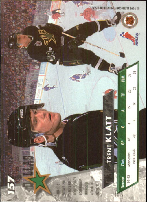 1993-94-Ultra-Hockey-1-250-Your-Choice-GOTBASEBALLCARDS thumbnail 295