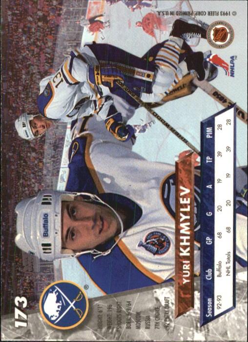 1993-94-Ultra-Hockey-1-250-Your-Choice-GOTBASEBALLCARDS thumbnail 325
