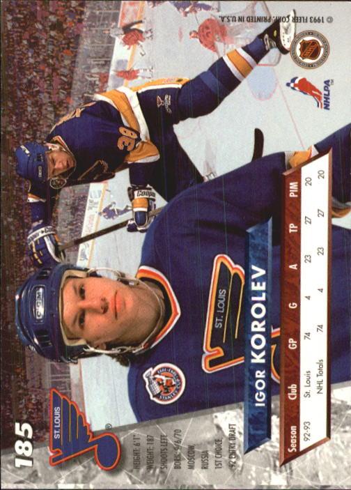 1993-94-Ultra-Hockey-1-250-Your-Choice-GOTBASEBALLCARDS thumbnail 349