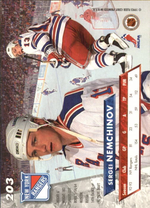 1993-94-Ultra-Hockey-1-250-Your-Choice-GOTBASEBALLCARDS thumbnail 385