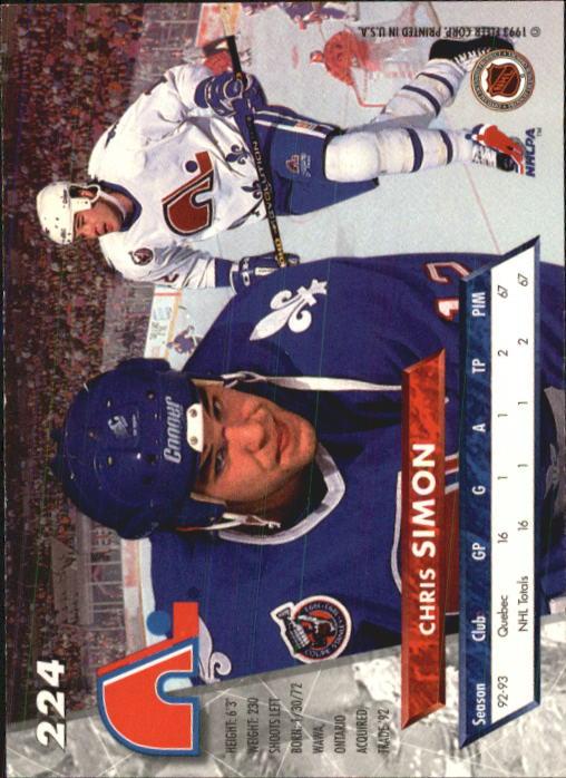 1993-94-Ultra-Hockey-1-250-Your-Choice-GOTBASEBALLCARDS thumbnail 427