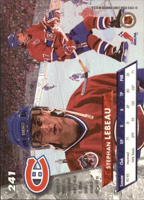 1993-94-Ultra-Hockey-1-250-Your-Choice-GOTBASEBALLCARDS thumbnail 459