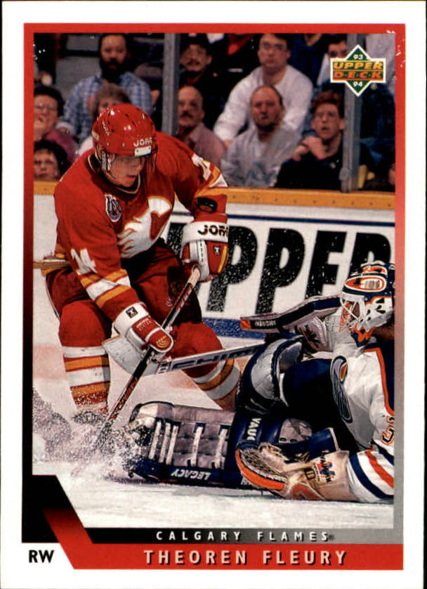1993-94 Upper Deck #3 Theo Fleury