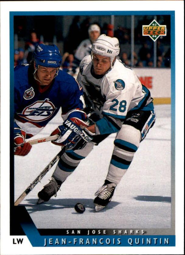 1993-94 Upper Deck #21 Jean-Francois Quintin