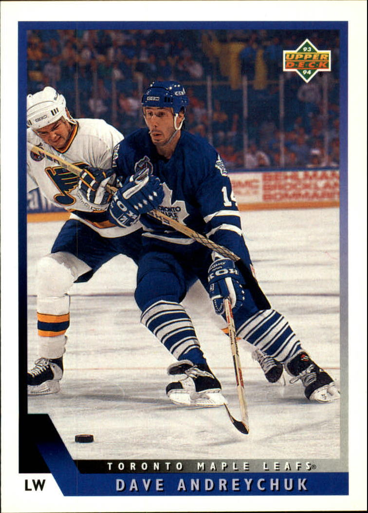 1993-94 Upper Deck #86 Dave Andreychuk