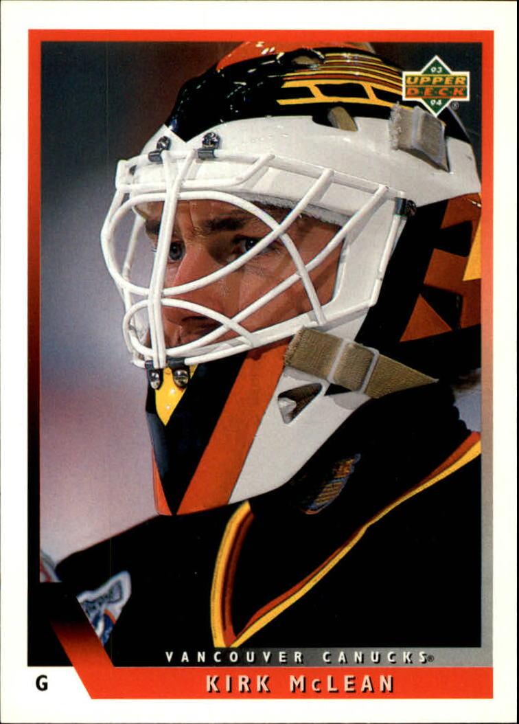 1993-94 Upper Deck #156 Kirk McLean