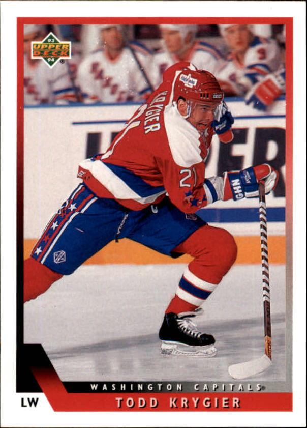 1993-94 Upper Deck #207 Todd Krygier
