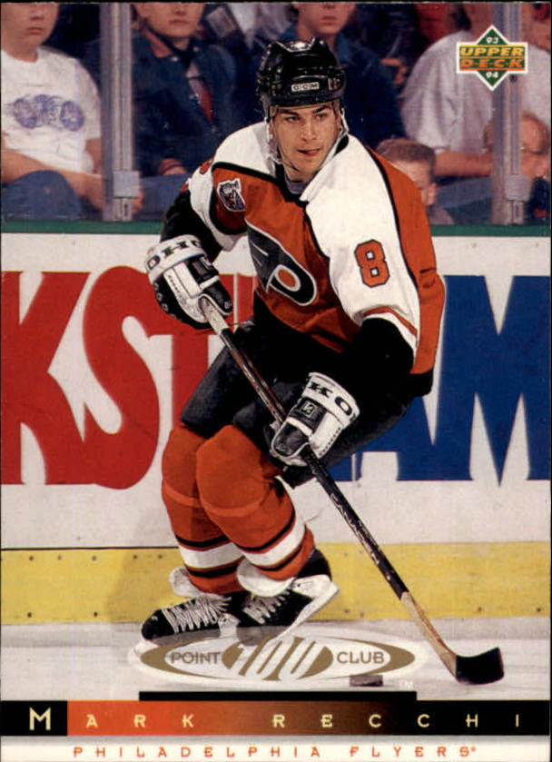 1993-94 Upper Deck #222 Mark Recchi 100