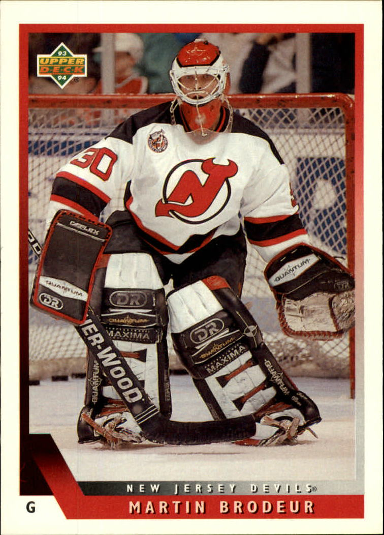 65bfd7399 1993-94 Upper Deck  334 Martin Brodeur - NM-MT