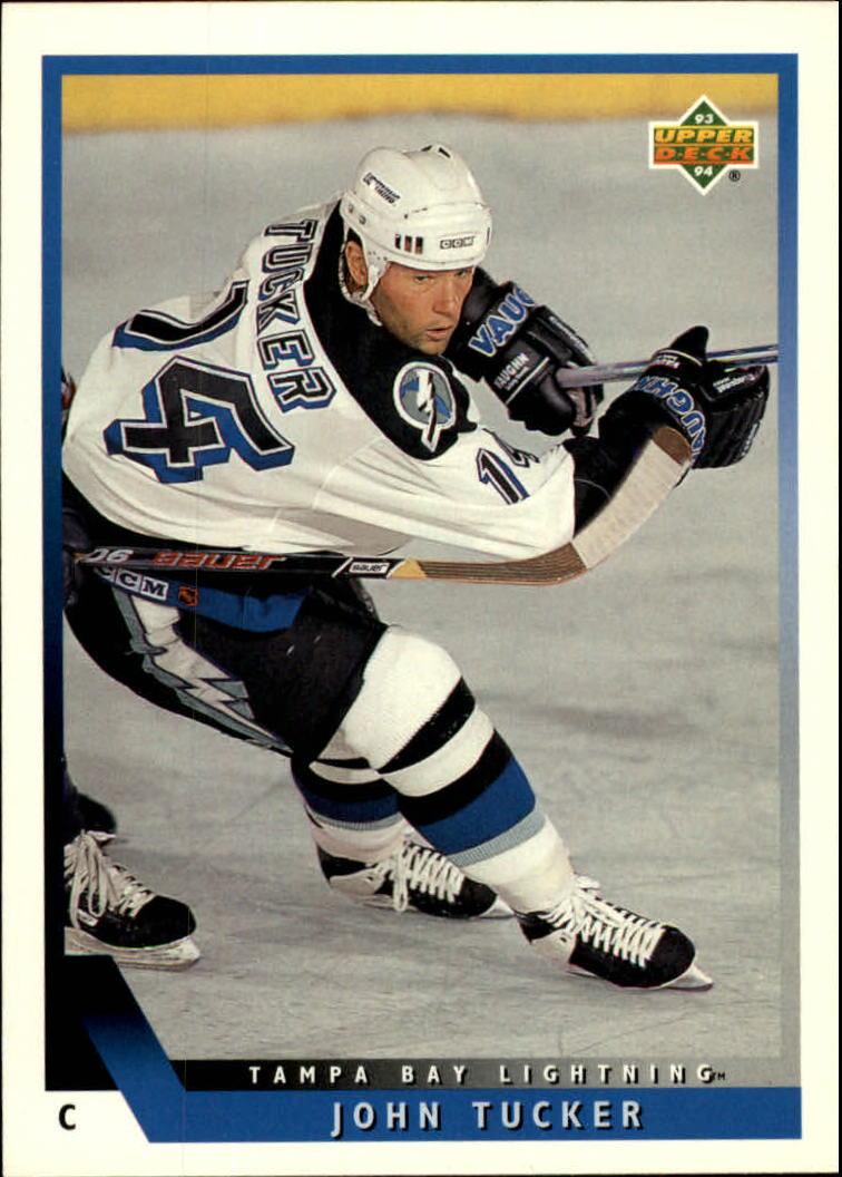 1993-94 Upper Deck #409 John Tucker