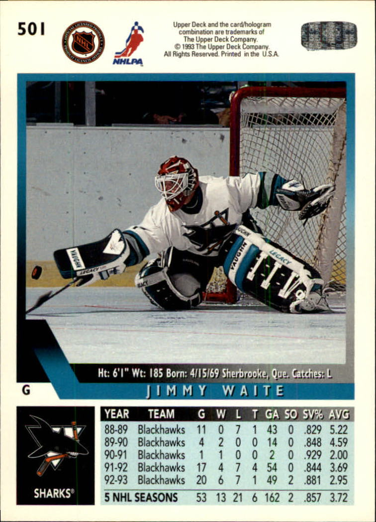 1993-94-Upper-Deck-Hk-039-s-501-575-Rookies-You-Pick-Buy-10-cards-FREE-SHIP thumbnail 3