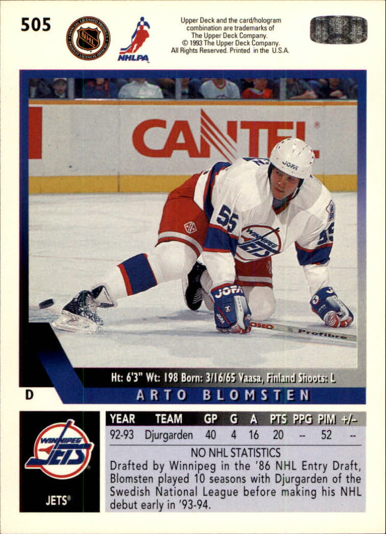 1993-94-Upper-Deck-Hk-039-s-501-575-Rookies-You-Pick-Buy-10-cards-FREE-SHIP thumbnail 11