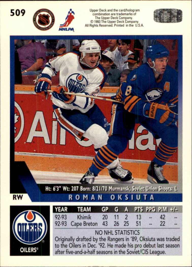 1993-94-Upper-Deck-Hk-039-s-501-575-Rookies-You-Pick-Buy-10-cards-FREE-SHIP thumbnail 19