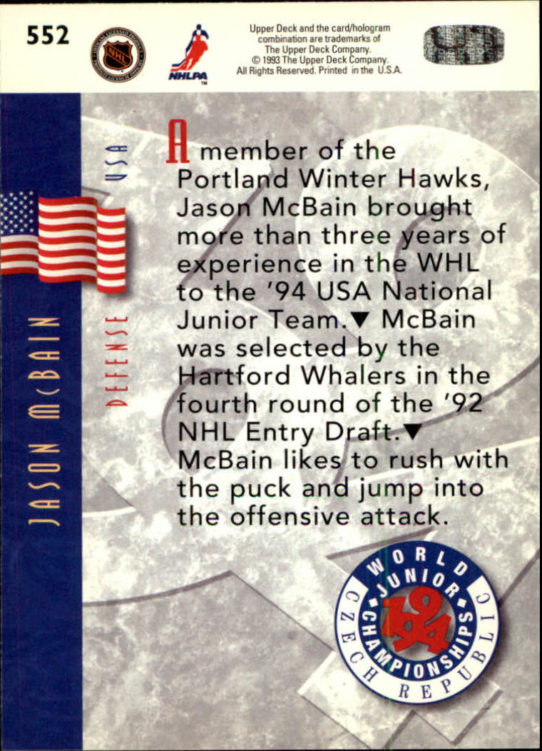 1993-94-Upper-Deck-Hk-039-s-501-575-Rookies-You-Pick-Buy-10-cards-FREE-SHIP thumbnail 105