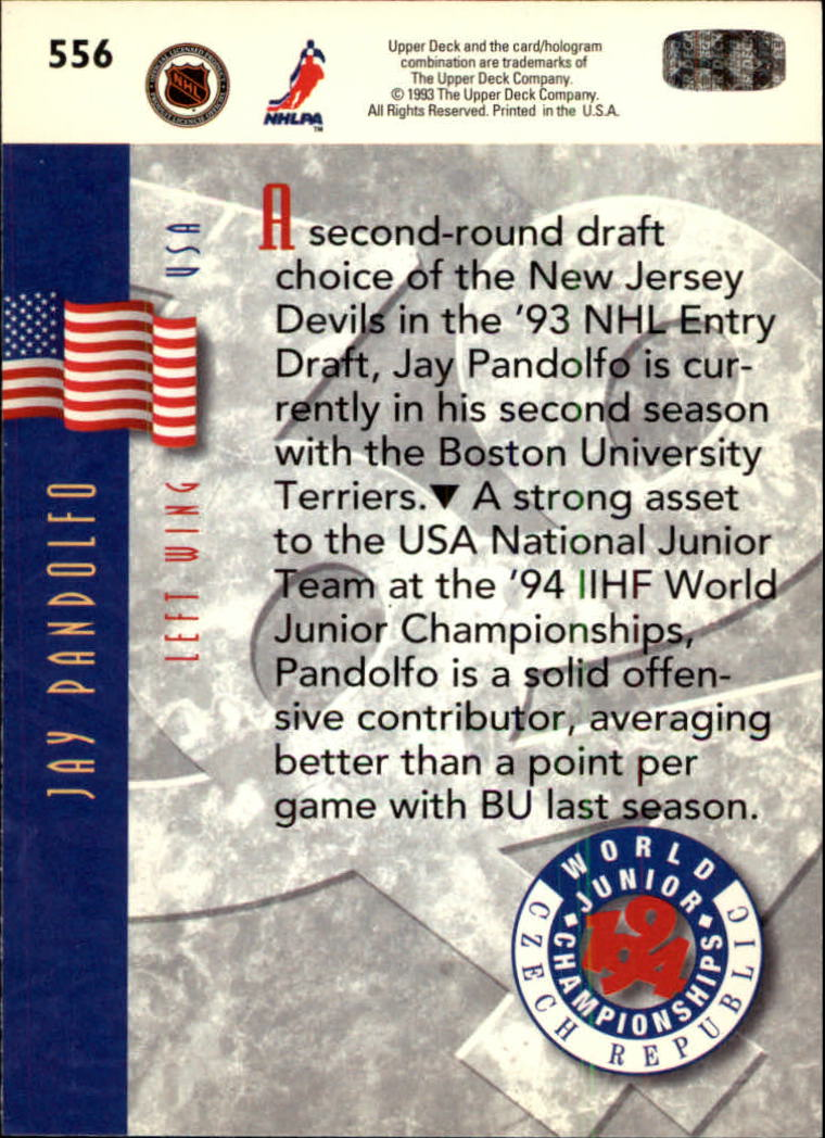 1993-94-Upper-Deck-Hk-039-s-501-575-Rookies-You-Pick-Buy-10-cards-FREE-SHIP thumbnail 113
