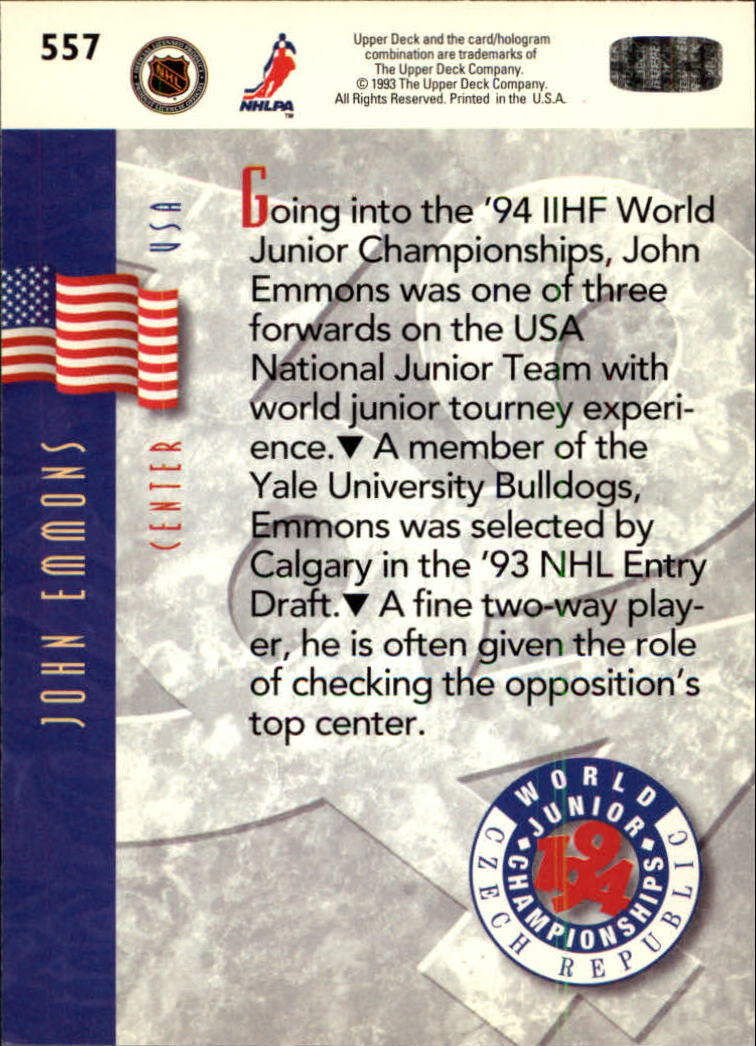 1993-94-Upper-Deck-Hk-039-s-501-575-Rookies-You-Pick-Buy-10-cards-FREE-SHIP thumbnail 115