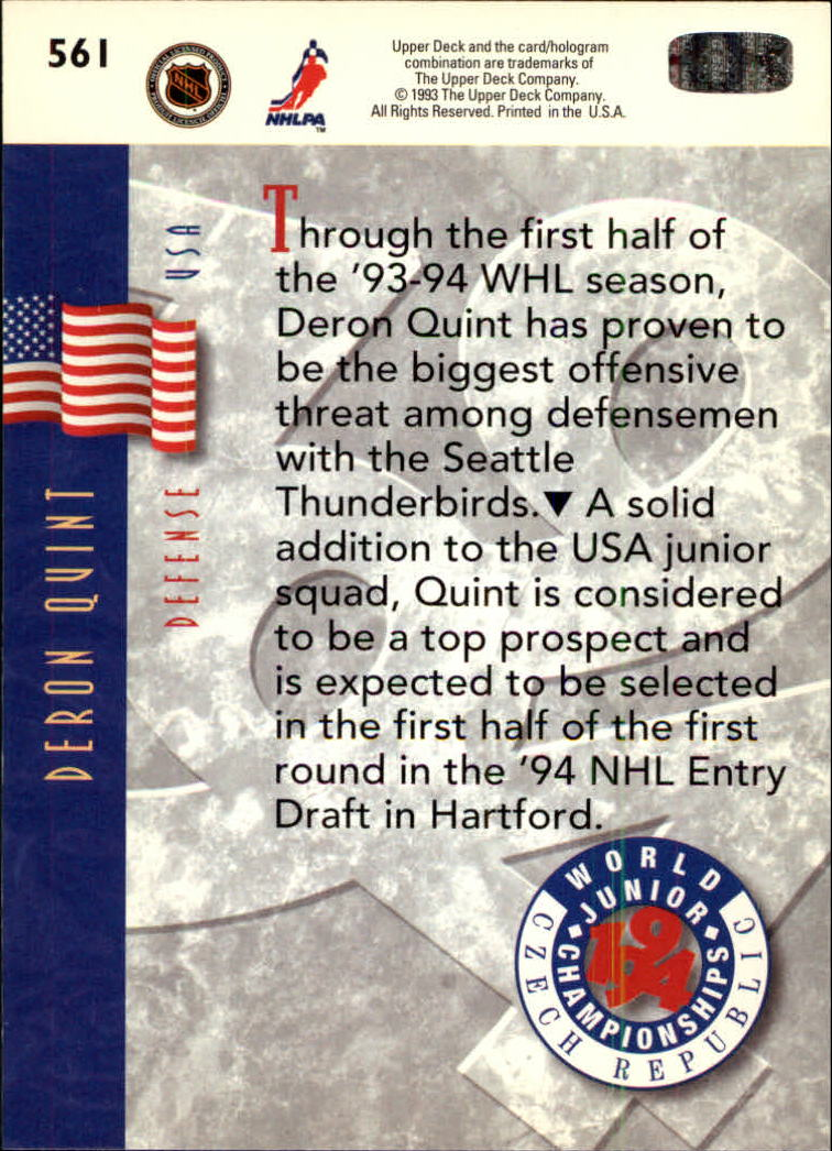 1993-94-Upper-Deck-Hk-039-s-501-575-Rookies-You-Pick-Buy-10-cards-FREE-SHIP thumbnail 123