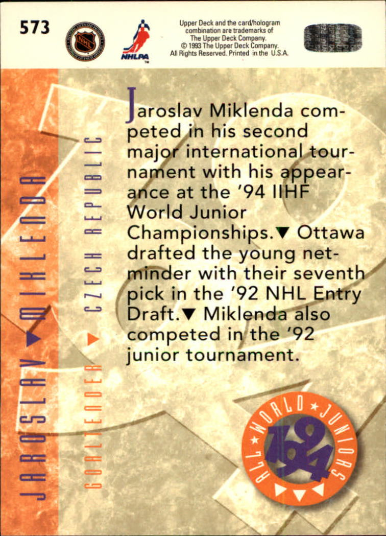 1993-94-Upper-Deck-Hk-039-s-501-575-Rookies-You-Pick-Buy-10-cards-FREE-SHIP thumbnail 147