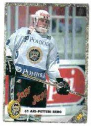 1993-94 Finnish SISU #38 Aki Berg