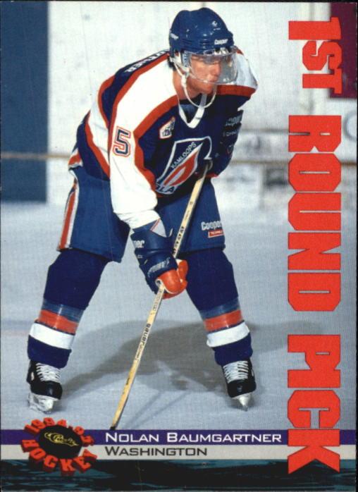 1994 Classic #9 Nolan Baumgartner