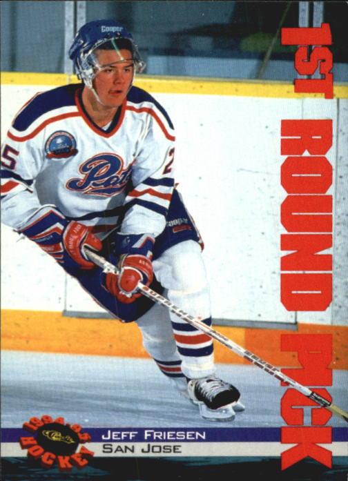 1994 Classic #10 Jeff Friesen