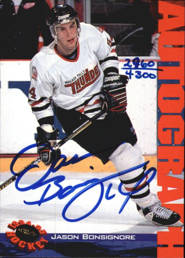 1994 Classic Autographs #4 Jason Bonsignore/4300