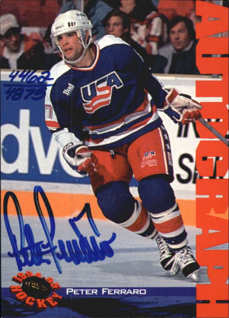 1994 Classic Autographs #38 Peter Ferraro/4875
