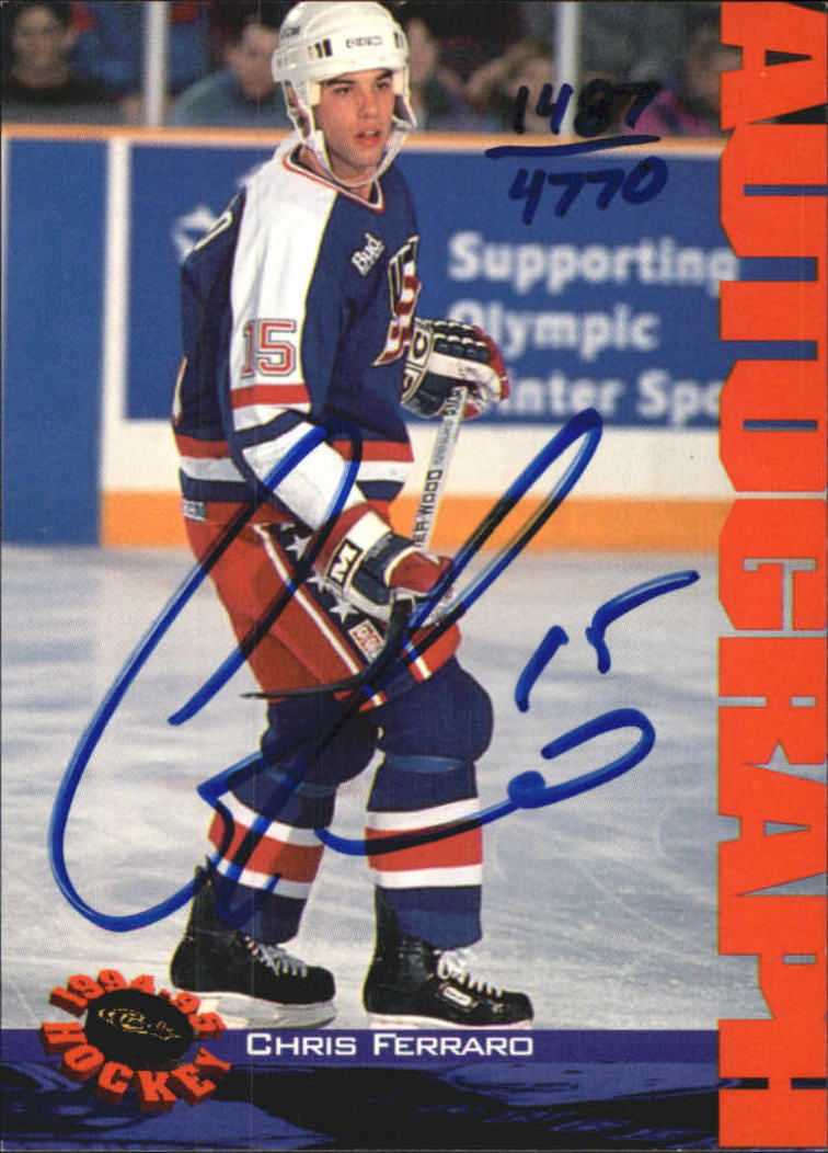1994 Classic Autographs #39 Chris Ferraro/4770