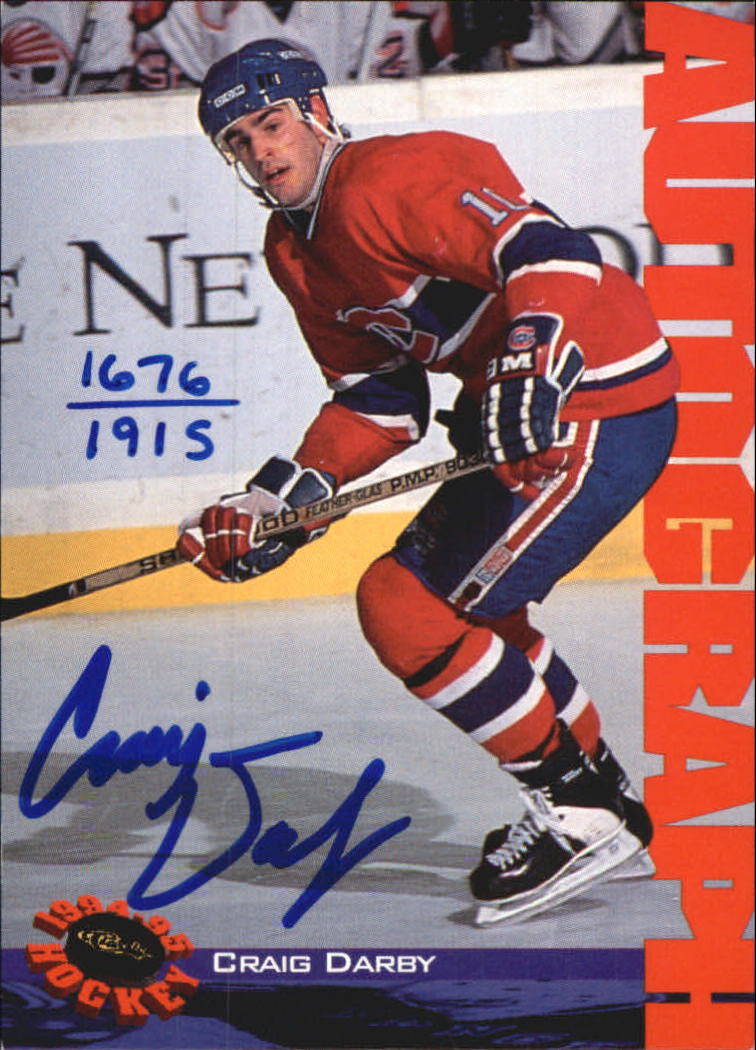 1994 Classic Autographs #86 Craig Darby/1915