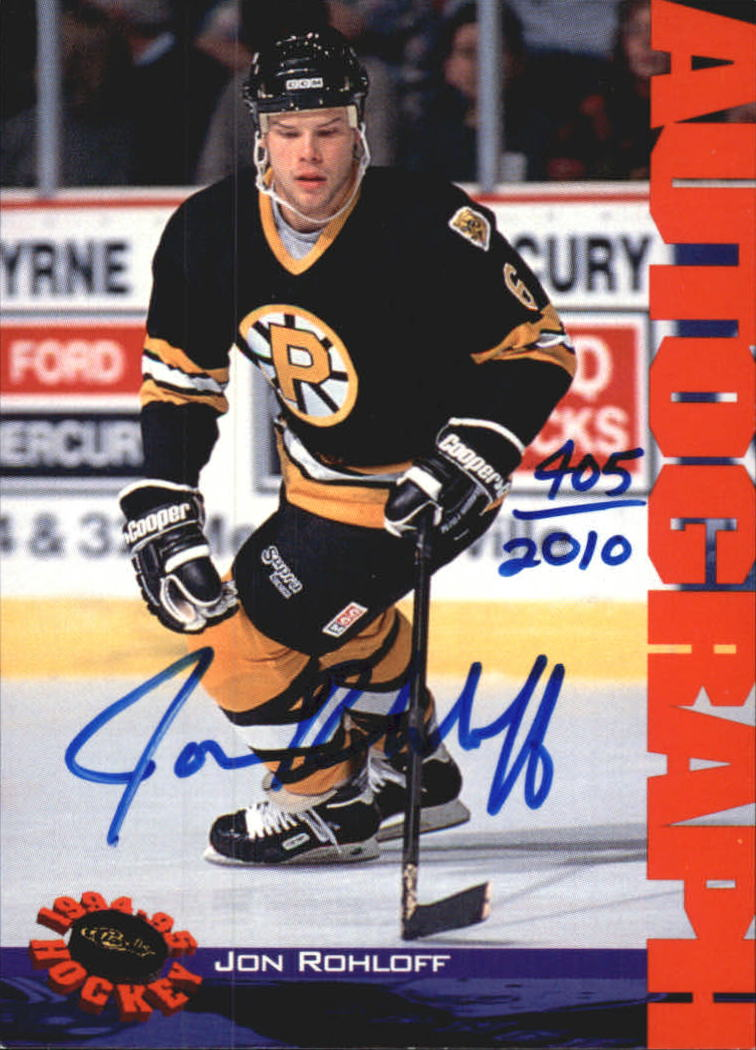 1994 Classic Autographs #NNO Jon Rohloff/2010
