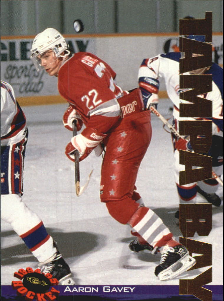 1994 Classic Gold #115 Aaron Gavey