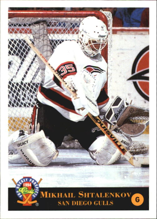 1994 Classic Pro Prospects #49 Mikhail Shtalenkov