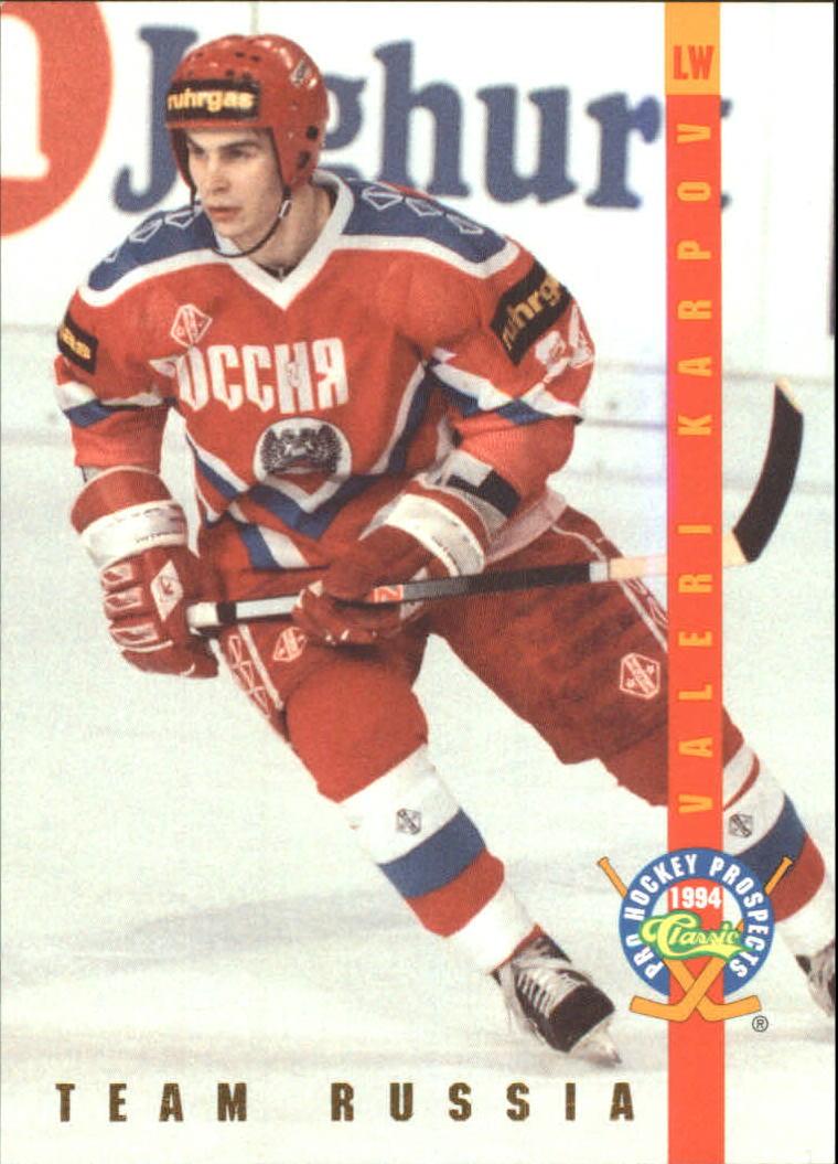 1994 Classic Pro Prospects Ice Ambassadors #IA20 Valeri Karpov