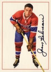 1994 Parkhurst Missing Link Autographs #5 Jean Beliveau