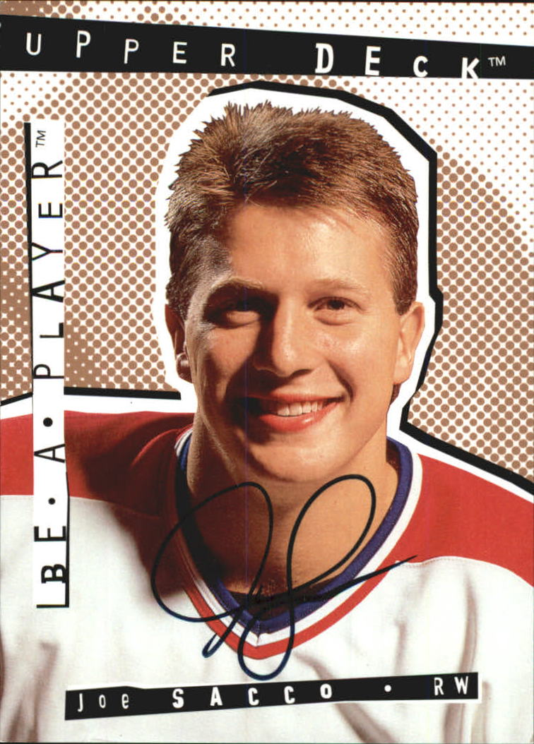 1994-95 Be A Player Autographs #79 Joe Sacco