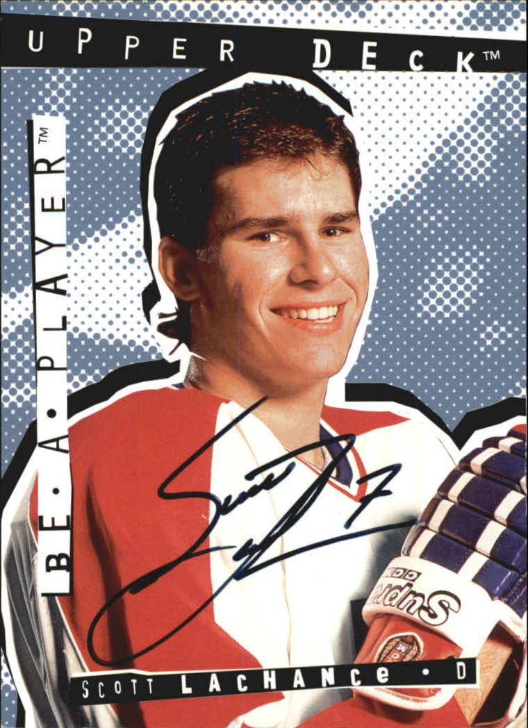 1994-95 Be A Player Autographs #82 Scott Lachance