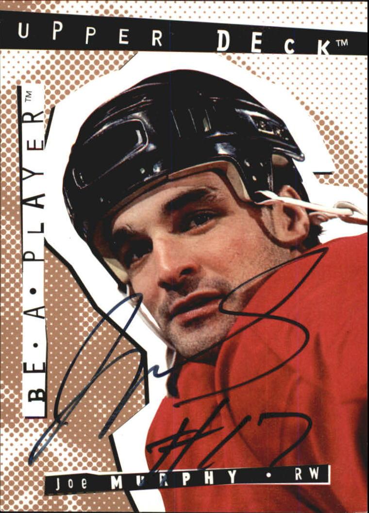 1994-95 Be A Player Autographs #87 Joe Murphy
