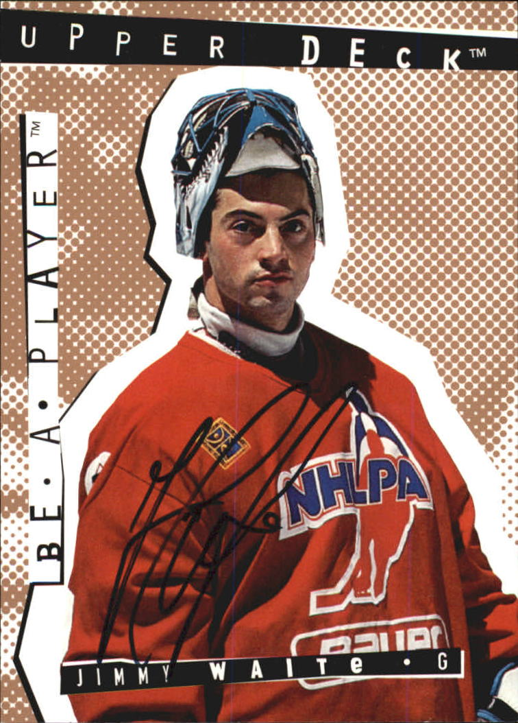 1994-95 Be A Player Autographs #126 Jimmy Waite