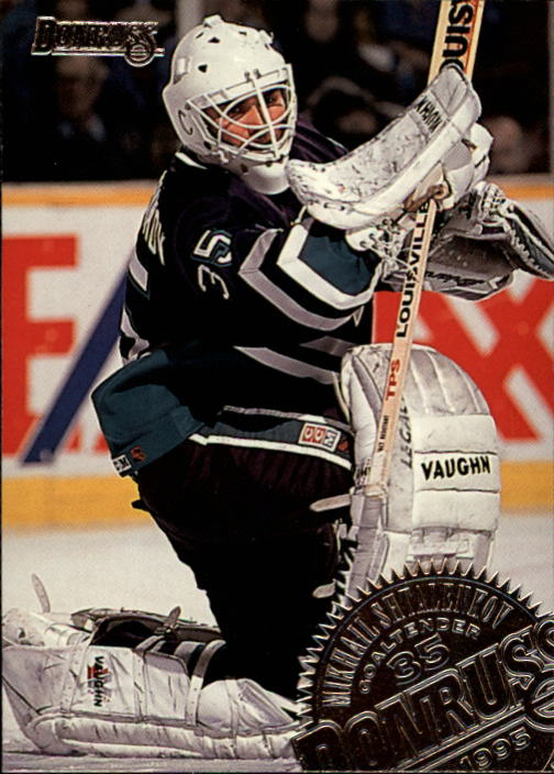 1994-95 Donruss #314 Mikhail Shtalenkov RC