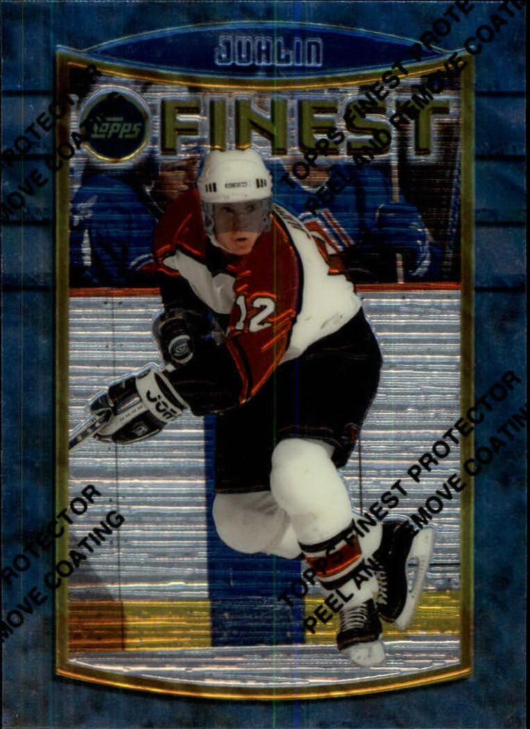 1994-95 Finest #6 Patrik Juhlin RC