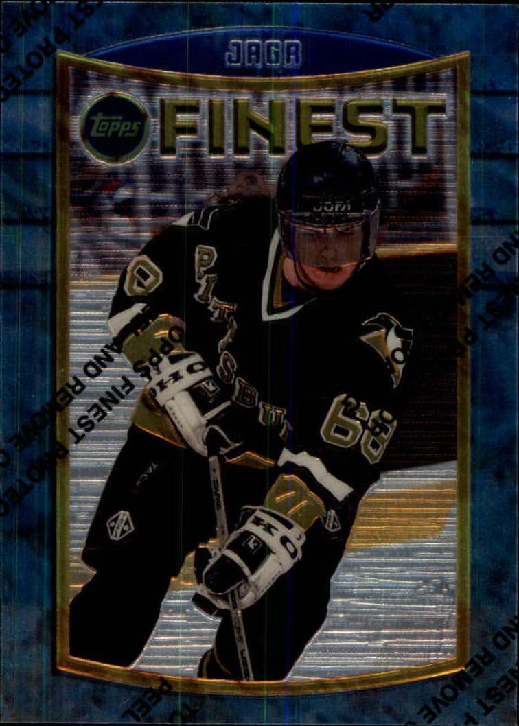 1994-95 Finest #33 Jaromir Jagr